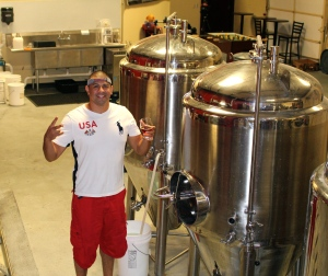 Ruven at Big Rip Brewing